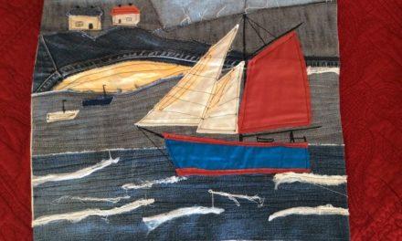 Art textile – Le bateau