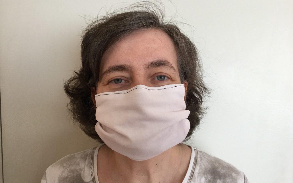 Masque blanc de protection grand public