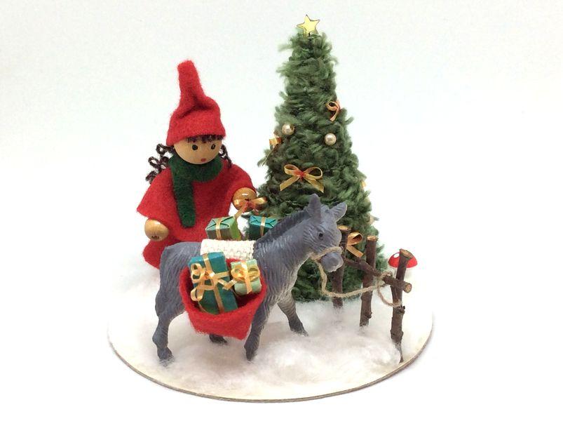 L'ane de Noël